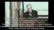 Последната реч на Слободан Милошевич преди свалянето му от Цру