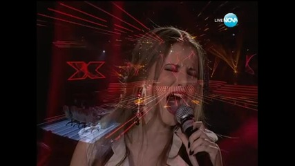 X Factor Нелина Георгиева - елиминации - 06.12.2013 г