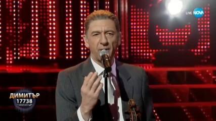 Димитър Маринов като Leonard Cohen -