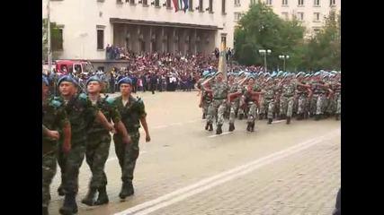 Парад по случай 6 май, Ден на храбростта и празник на българската армия