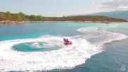 Удавих си дрона в Гърция :/