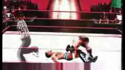 Smackdown Vs Raw 2010 Xbox 360 Gameplay Bloody Fight