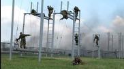 Тренировка на Руската Армия - Полоса с Препятствия