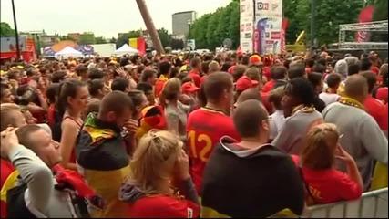 Белгийците гледаха, очакваха, но отпаднаха
