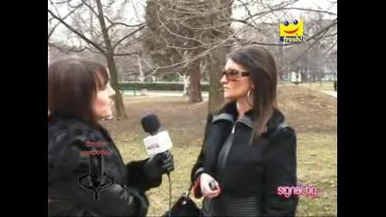 Фолк звездата Валентина Кристи с интервю за Свети Валентин.