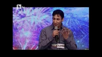 Младен Кирилов като Слави Трифонов