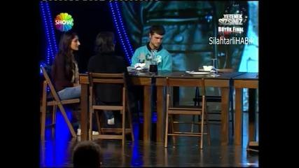 Yetenek sizsiniz Turkiye Buyuk Final Turkish got Talent iranli Aref Ghafouri - part 1 - 20mart 2011