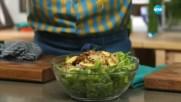 Зелена салата с репички и картофи - Бон Апети (20.04.2017)