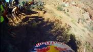 Луд луд, колко да е луд? Red Bull Challange 2010 Helmet Cam Gopro Hd