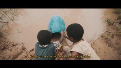 Тези деца за първи път опитват чиста вода!