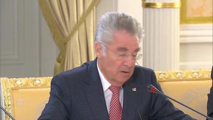 Russia: Medvedev and Austrian President Fischer focus on building ties