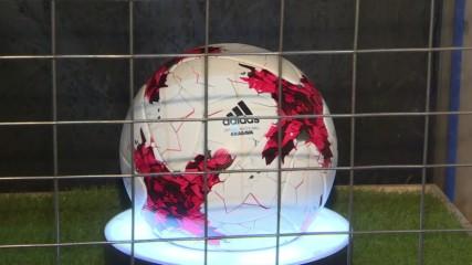 Russia: Adidas present new team kit and 'Krasava' football