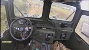 Джип M1161 Growler се движи без шофьор в Морската пехота на Сащ