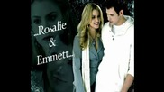 Emmett Cullen And Rosalie Hale - Something About You