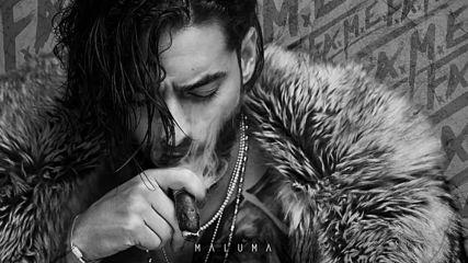 Превод! 2018! Maluma - Ojos Que No Ven Audio / F.a.m.e