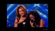 Alexandra Burke & Beyonce - Listen (Final X-Factor 2008) (ВИСОКО КАЧЕСТВО)
