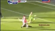 Унищожителен обрат на Арсенал срещу Тотнъм,от 0:2 до 5:2 !