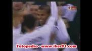 18.11 Англия - Чехия 2:0 Фрейзъл Кембъл гол ( Младежи до 21г. )