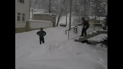 Скок В Снега