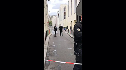 France: Forensic team on site after stabbing attack near Charlie Hebdo former office