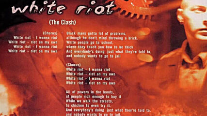 Razors Edge – White Riot