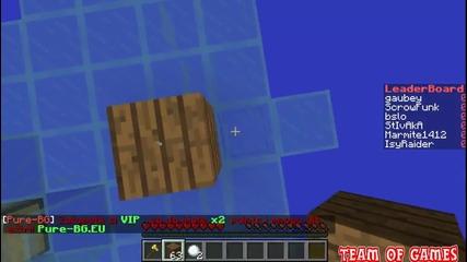 Minecraft Purebg-bg gameplay
