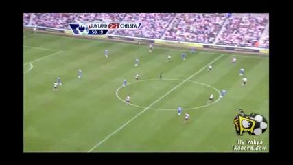 10.09.2011 Съндърланд 0-2 Челси гол на Даниел Стъридж