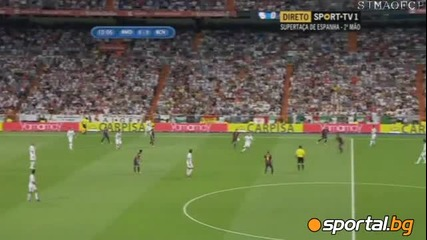 Реал Мадрид 2:1 Барселона, супер купа на Испания