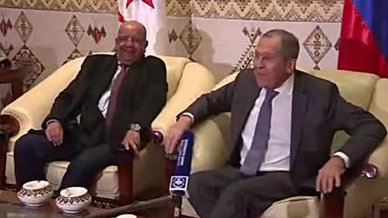 Algeria: Hello mic! Lavrov gets diplomatic in Algiers