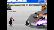 Naruto Mugen Pain vs. Tobi