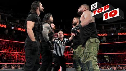 Топ 10 момента от Първична сила: WWE 24.9.2018
