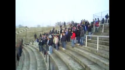 Spartak Fans Away At Lauta