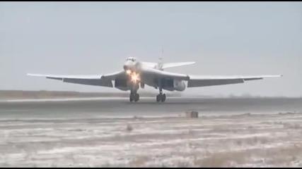 Русия изкара най-новото си чудовище срещу Ид, Крилати ракети изделие Х-101 на борда на Ty-160
