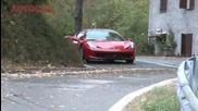 Ferrari 458 Italia Първото кръгче с този звяр!