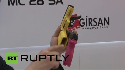 Turkey: Istanbul's gun-toting women handle firearms made especially for females