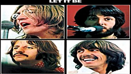 Beatles - Let It Be (two Guitar solos mixed)