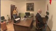 Скрита камера - Директора убит в офиса