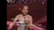 Евровизия , Победители 1956 - 2007 (2/2)