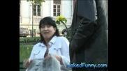 Голи И Смешни - Скрита Камера Изненада за дамите ( Супер Качество )