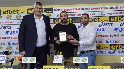 Националният тим на България по волейбол е отбор №1 на месец януари