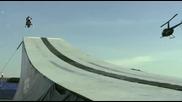 Световен рекорд по скачене със снегоход 361 фута или 110 метра