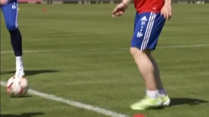 Байерн Мюнхен тренира след разгрома над Порто