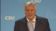 Germany: Bavaria's Seehofer demands refugee talks with Turkey yield results