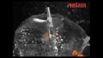 Пукане На Балон С Вода