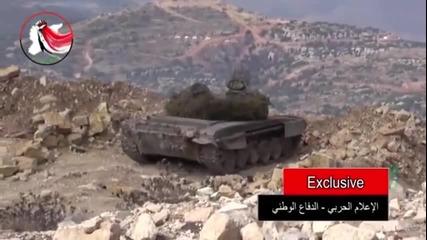 Руски войски в Сирия атакуват Ид, Заедно със сирийската армия