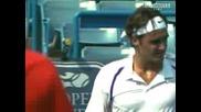 Federer Vs Baghdatis - Cincinnati 2007