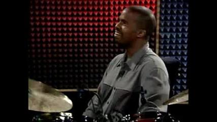 Three Year Old Drummer