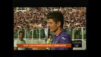 30 000 посрещнаха Марио Гомес във Флоренция