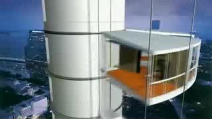 Въртящата се кула - Архитектура
