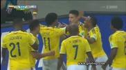 Колумбия на 1/4 финал на Световното! Колумбия 2:0 Уругвай 28.06.2014